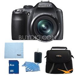 FinePix SL300 14MP CCD Digital Camera 4 GB Bundle