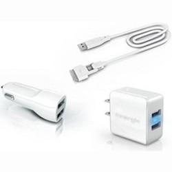 mMini Combo Duo Travel Charging Kit w/ USB Magic Cable Duo - TADP-10BE AA2