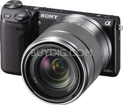 NEX-5RK/B Compact Interchangeable Lens Digital 18-55 Lens (Black) - OPEN BOX