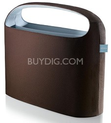 F8N060-BRN 15-Inch Hideaway Laptop case (Chocolate/Tourmaline)