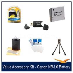 Value Accessory Kit For The Canon SX500,SX510,D30,SX700, S95 & SX280