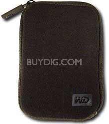 Neoprene Carrying Case for My Passport Portable Drives  WDBABH0000NBK-NRSN