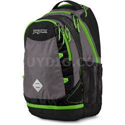 Boost Backpack (Shady Grey/Zap Green)