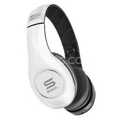 SOUL by Ludacris SL150BW High-Definition On-Ear Headphones (White/Black)