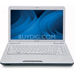 """Satellite 14.0"""" L645D-S4106WH Notebook PC - White AMD N660"""