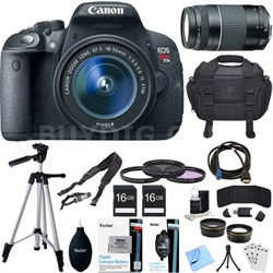 EOS Rebel T5i 18MP SLR Digital Camera + EF-S 18-55mm IS STM Lens Deluxe Bundle