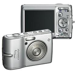Coolpix L12 Digital Camera (Silver) Plus Free 1GB Memory Card