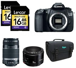 EOS 60D 18 MP CMOS SLR Digital  Photography Experience Kit
