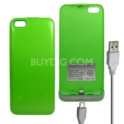 iPhone 5 Battery Case 2600mAh - Green