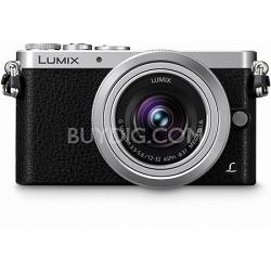 LUMIX DMC-GM1 Interchangeable Lens (DSLM) Black Camera with 12-32mm Silver Lens