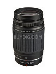 smc P-FA 75-300mm f/4.5-5.8 AL (Black) - Telephoto Auto Focus Zoom Lens