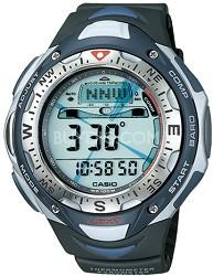 SPF40-1V Black G-Shock Pathfinder Watch w/ Solar Tiple Sensor & Resin Band