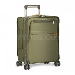 "Baseline Collection 19"" Commuter Expandable Luggage Spinner (Olive) - OPEN BOX"