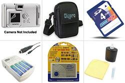 Platinum Accessory Bundle for Powershot A430, A460, A530, A550, A560, A480