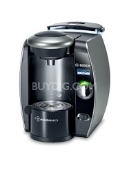 TAS6515UC Tassimo Single-Serve Coffee Brewer, Twilight Titanium - New Torn Box