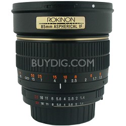 85mm f/1.4 Aspherical Lens for Sony E-Mount