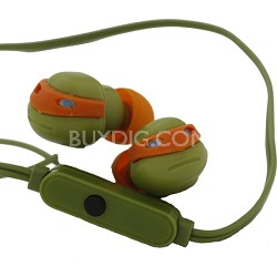 Turtles Earbuds with Mic