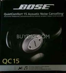 QuietComfort 15 Acoustic Noise Canceling headphones