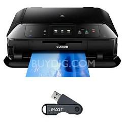 PIXMA MG7520 Wireless Color All-in-One Inkjet Printer - Black + 32GB USB Drive