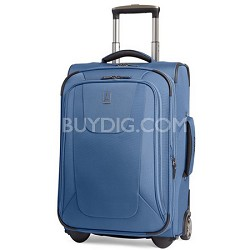 """Maxlite3 22"""" Carry-on Blue Expandable Rollaboard Luggage"""