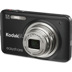"EasyShare M5350 16MP Wide 5x Zoom 2.7"" LCD Black Digital Camera"