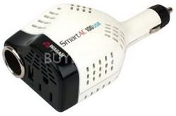 100-Watt Smart AC USB Inverter with DC Socket