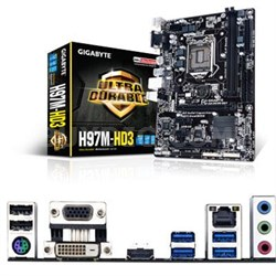 Intel H97 Chipset LGA1150 CPU