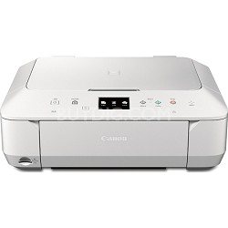 PIXMA MG6620 Wireless Color Photo All-in-One Inkjet Printer - White