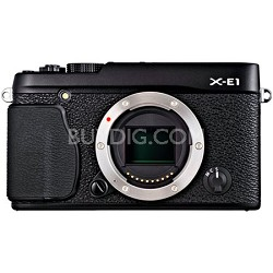 X-E1 16.3MP Body Only Digital Camera - Black