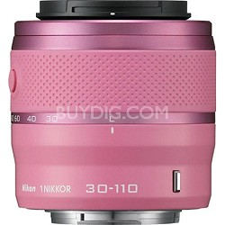 1 NIKKOR 30-110mm f/3.8 - 5.6 VR Lens Pink (Refurbished)