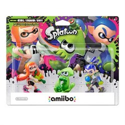 amiibo SplatoonSeries 3pk WiiU
