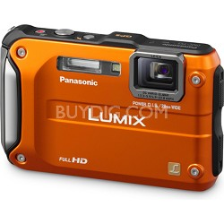 Lumix DMC-TS3 Orange Shockproof Freezeproof Dustproof Camera