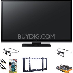 PN51E490 51 inch 3D 720p Plasma HDTV Value Bundle