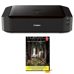 Pixma iP8720 Wireless Inkjet Photo Printer w/ Photoshop Lightroom 5