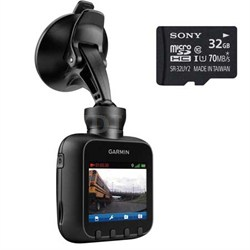 Dash Cam 20 HD Driving Recorder with Built in GeoTagging + 32GB Micro SD Card