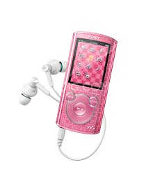 NWZ-E464 8 GB Walkman MP3 Player (Pink)