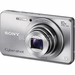 Cyber-shot DSC-W690 16MP 10X Zoom 720p Video (Silver) - OPEN BOX