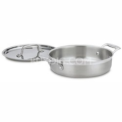 MCP55-24 - MultiClad Pro Stainless 3-Quart Casserole with Cover