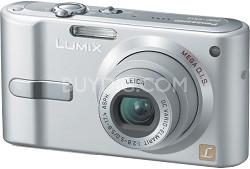 DMC-FX12S (Silver) Lumix 7.2 megapixel Digital Camera w/ 2.5-inch LCD