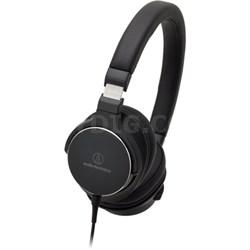 On-Ear High-Resolution Audio Headphones - Black