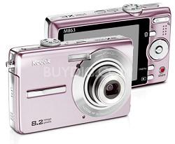 EasyShare M863 8.2 MP Digital Camera (Pink)