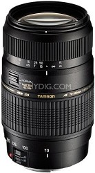 70-300mm f/4-5.6 DI LD Macro Lens f/ Nikon AF w/ Built-in Motor - OPEN BOX