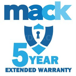 5 Year Warranty Certificate for TV Priced up to $1000 (1402)