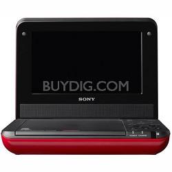 DVPFX750/R - 7 Inch Portable DVD Player (Red)