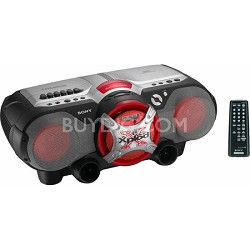 CFD-G505 Xplod CD Radio Cassette Recorder Boombox
