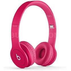 Solo HD On-Ear Headphones with Built-in Mic (Matte Pink)