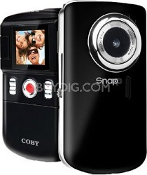 "Digital Camcorder/Camera with 1.3MP, 4 x Digital Zoom, 1.44"" TFT LCD Display"