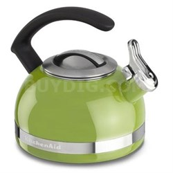 2.0-Quart Kettle with C Handle and Trim Band in Sunkissed Lime - KTEN20CBKL