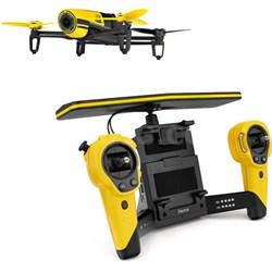 BeBop Drone 14MP Full HD 1080p Fisheye Camera SkyController Bundle (Yellow)