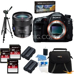 Alpha SLT-A99V 24.3 MP SLR Camera (Black) + SAL 24mm f/2.0 Full Frame Lens